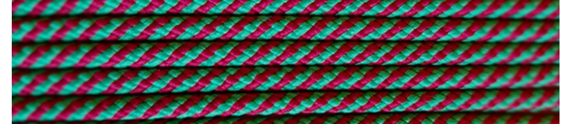 Colorful round laces